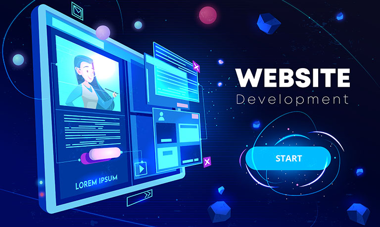 ICSA web development